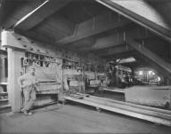 Batteries, Sierra Buttes Mine, California. [transparency]