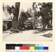 [Men packing truck. Hagemeyer residence, Carmel.] [photographic print]