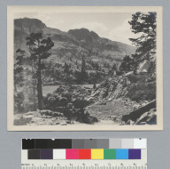 Mountain lake, Glen Alpine. [photographic print]