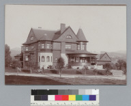 Walsh house (later Francis E. Williard Club), 360 Monte Vista Terrace, Oakland. [photographic print]