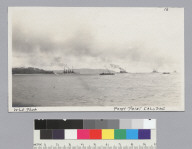 Fort Point saluting Great White Fleet, San Francisco. [photographic print]