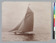 Valkyrie (yacht), on Clyde River. [photographic print]