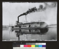 Pride of the River (steamboat), sternwheeler. [photographic print]
