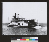 SS Gold (steamboat), sternwheeler. [photographic print]