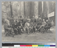 Group portrait of men, Bohemian Grove. [photographic print]