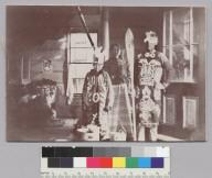 Native Americans in dance costumes, Sitka, Alaska. [photographic print]