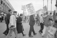 Pickets at Bancroft and Telegraph during the general strike.