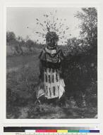 Flag dancer in costume for Boli-Maru ceremony
