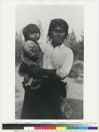 Lena Brown and child