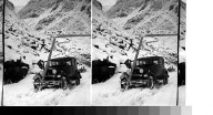 """Oct. 1930 near Altdorf, Switzerland. """"Off the road """" or """"why I headed south"""" Switzerland."""