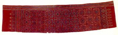 Textile fragment, pua sungkit. Malaysia
