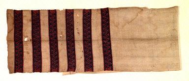 Textile, pio suki, loincloth, man's clothing. Indonesia