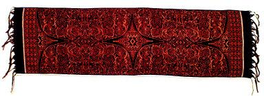 Textile, geringsing wayang, ritual cloth. Indonesia