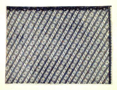 Textile, kain, wrap-around skirt. Indonesia