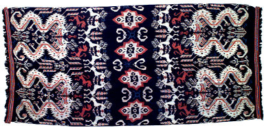 Textile, blanket, shroud?. Indonesia