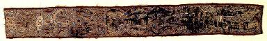 "Textile fragment, part of ""tapis"" skirt?. Indonesia"