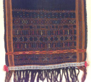 Textile, ulos, paromba sadum?, sling?. Indonesia