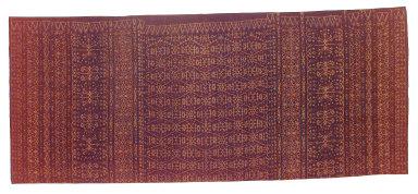 Textile, lawo, woman's sarong. Indonesia