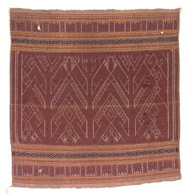 Textile, pelepai, prestige house decoration. Indonesia