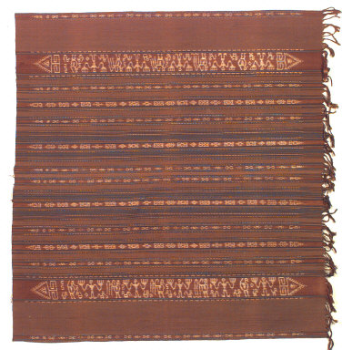 Textile, sarong, woman's clothing. Indonesia