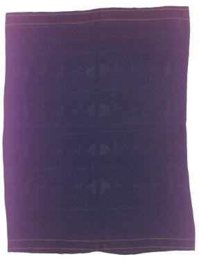 Textile, sapu jara, man's sarong. Indonesia