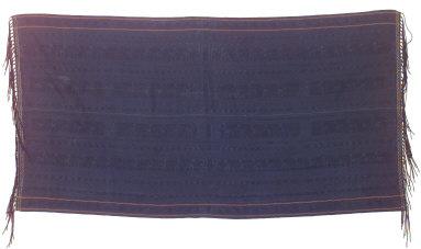 Textile, lue jara, shoulder cloth. Indonesia
