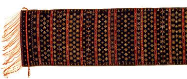 Textile, sapang, shoulder cloth. Indonesia