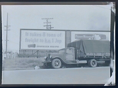 Signs, Metropolitan Oakland Wartime