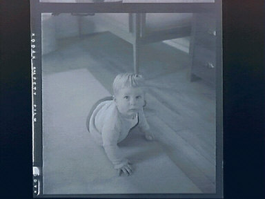 Gregor, at Grandma Dorries & first birthday