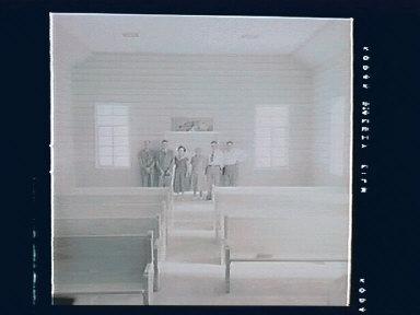 Gunlock Church Interior