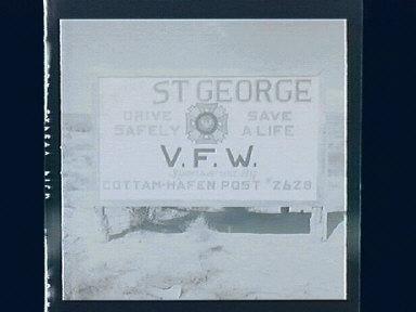 St. George, Roadsigns