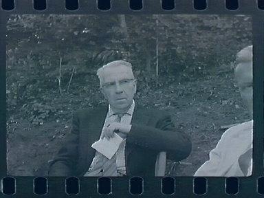 In the Garden at 1163, with Professor Murray Denedict