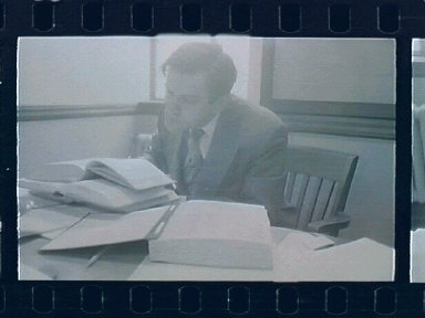 Pulich in his Office (& some of George Nye)