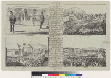 Assassination of James King of W[illia]m by James P. Casey, San Francisco [California] May 14th, 1856