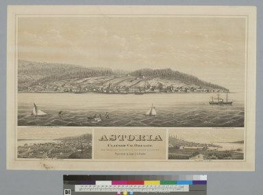 Astoria, Clatsop Co[mpany], Oregon: the proposed terminus of the North Pacific R.R.