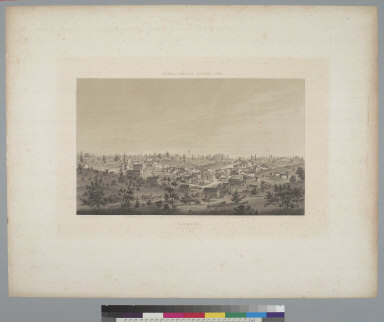 Auburn, Placer County, Cal[ifornia] 1857