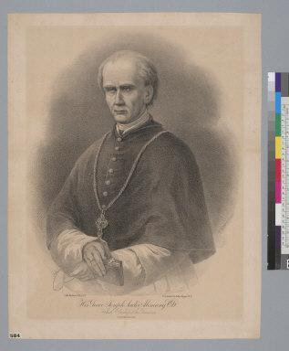 His Grace Joseph Sadoc Alemany, C.S.D., Arch Bishop [sic] of San Francisco [California]