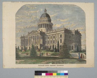 [State Capitol in Sacramento, California]
