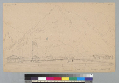 [Fort Cascades along Columbia River, Washington]