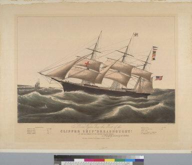 """[Clipper ship """"Dreadnought""""]"""