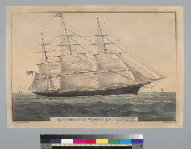 """Clipper ship """"Queen of Clippers"""""""