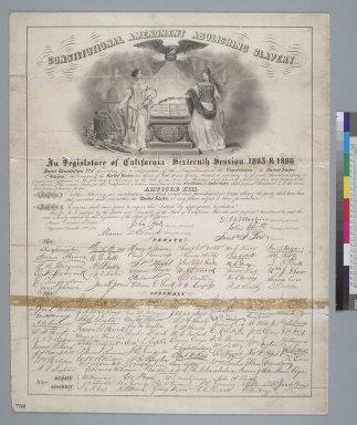 Constitutional amendment abolishing slavery