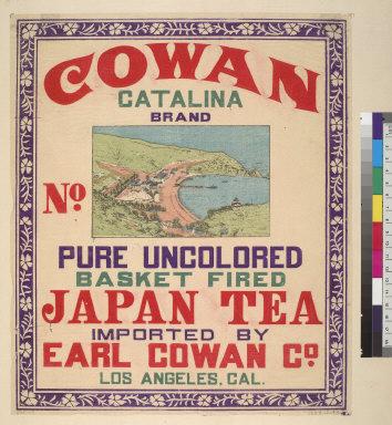[Cowan Catalina brand Japanese tea]