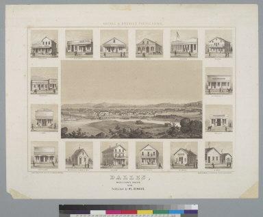 Dalles [sic], Wasco County, Oregon, 1858