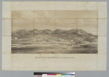 The city of Monterey, California, 1842