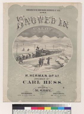 Snowed in Galop [H. Hermann, Carl Hess]