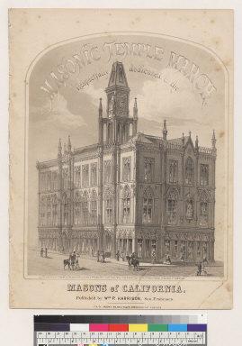 Masonic temple march, Masons of California