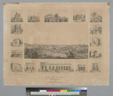 Jackson, Amador County, Cal[ifornia], 1857