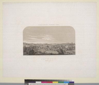 Jackson, Amador County, Ca[lifornia] 1857