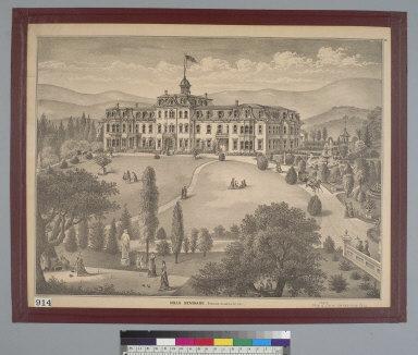 Mills Seminary, Brooklyn, Alameda Co[unty, Oakland], Cal[ifornia]